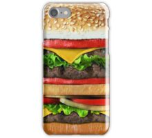 Tasty Delicious Burger iPhone Case/Skin