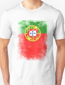 Portugal Flag Proud Portoguese Vintage Distressed Shirt Unisex T-Shirt