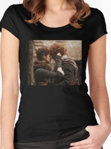 Outlander/Jamie & Claire Women's Fitted Scoop T-Shirt