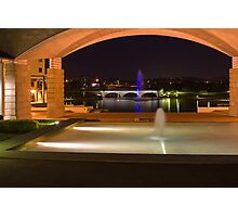 Bond University under the arch Photographic Print