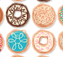 Nuts for Donuts Sticker