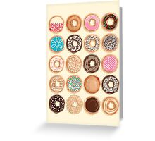 Nuts for Donuts Greeting Card