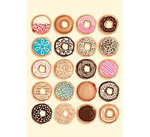 Nuts for Donuts Photographic Print