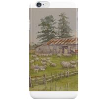 Shearing Shed at Clarence Point iPhone Case/Skin