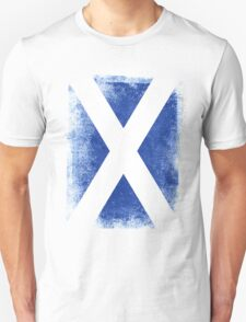 Scotland Flag Proud Scottish Vintage Distressed Shirt Unisex T-Shirt