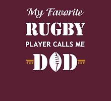 Dogs Lover Shirt - My Favorite Rugby Player calls me Dogs Unisex T-Shirt