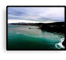 Bay Area View from Bridge Canvas Print
