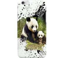 panda bear iPhone Case/Skin