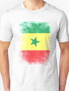 Senegal Flag Proud Senegalese Vintage Distressed Shirt Unisex T-Shirt