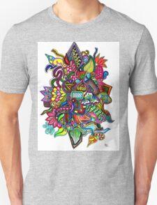 Rainbow Tech, by Inktangle Unisex T-Shirt