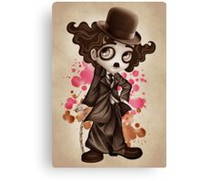 The Little Tramp Canvas Print