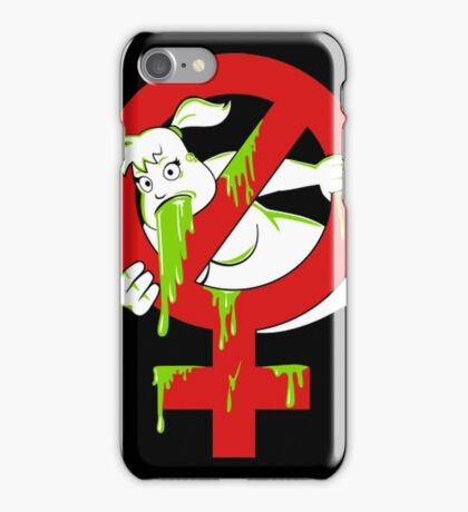 DESTROYING FUNNY GHOST iPhone Case/Skin