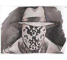 Watchmen - Rorshach Ink Portrait Poster