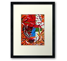 On Block 3 Framed Print