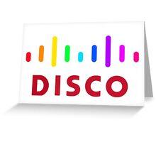 Disco (Cisco Parody) Greeting Card