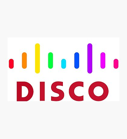 Disco (Cisco Parody) Photographic Print
