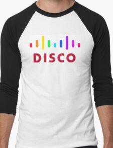 Disco (Cisco Parody) Men's Baseball ¾ T-Shirt