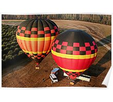 Hot air balloons, Florida, USA 4 Poster