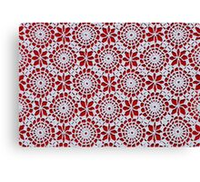 Portuguese Crochet Pattern - Cases, Pillows and More Canvas Print