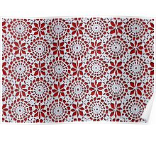 Portuguese Crochet Pattern - Cases, Pillows and More Poster