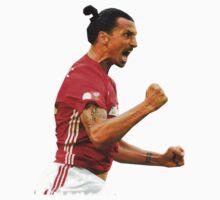 Zlatan Ibrahimovic Manchester United (T-Shirt, Phone Case & More ) Baby Tee