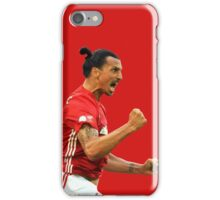Zlatan Ibrahimovic Manchester United (T-Shirt, Phone Case & More ) iPhone Case/Skin