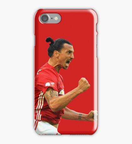 Zlatan Ibrahimovic Manchester United (T-Shirt, Phone Case & More ) iPhone Case/Skin