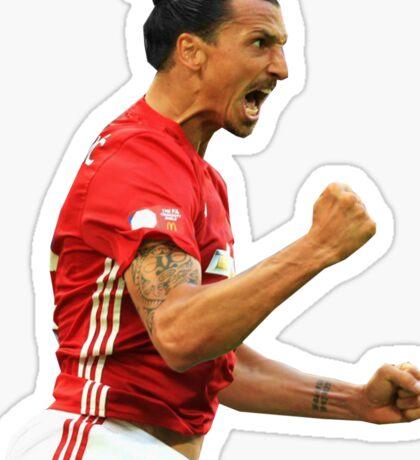 Zlatan Ibrahimovic Manchester United (T-Shirt, Phone Case & More ) Sticker