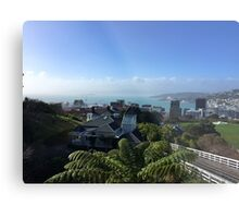 Wellington City Metal Print