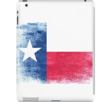 Texas State Flag Distressed Vintage Shirt iPad Case/Skin