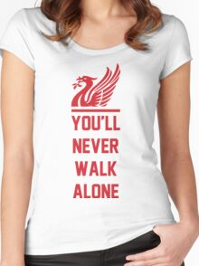 Liverpool FC - YNWA 2 Women's Fitted Scoop T-Shirt