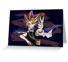Yugi Greeting Card