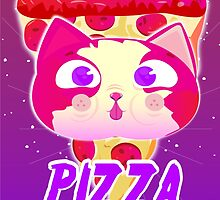 Cat pizza by ohwow