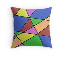 Abstract Funk Throw Pillow