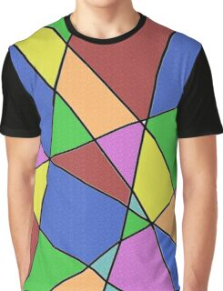 Abstract Funk Graphic T-Shirt