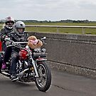 Bikers on a Teddy Bear's Picnic by Photography  by Mathilde