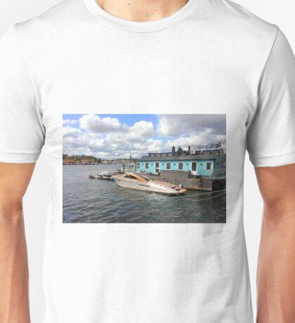Stockholm harbour, SWEDEN Unisex T-Shirt