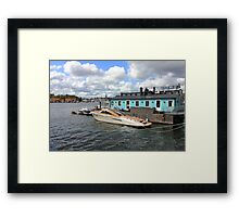 Stockholm harbour, SWEDEN Framed Print