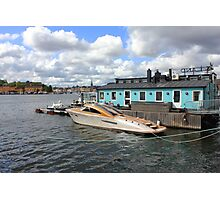 Stockholm harbour, SWEDEN Photographic Print