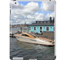Stockholm harbour, SWEDEN iPad Case/Skin