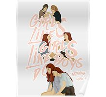 girls like girls Poster