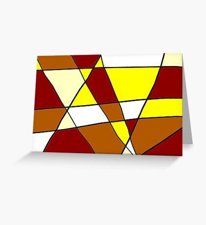 Abstract Warmth Greeting Card