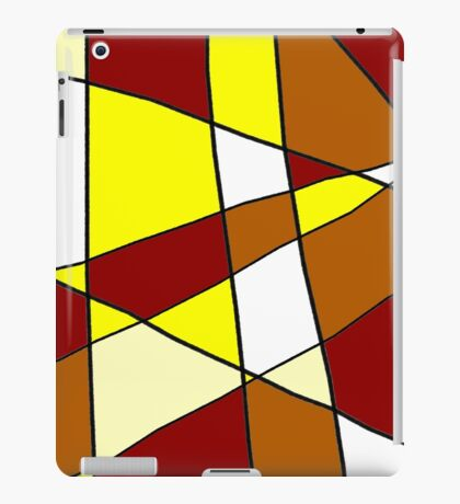 Abstract Warmth iPad Case/Skin