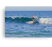 Laguna Beach California Paddle Boarding Canvas Print