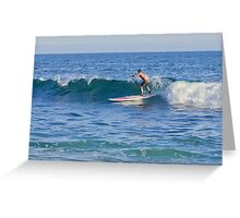 Laguna Beach California Paddle Boarding Greeting Card