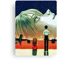 Neon Genesis Evangelion: The End of Evangelion Movie Poster  Canvas Print