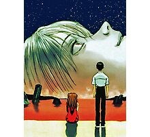 Neon Genesis Evangelion: The End of Evangelion Movie Poster  Photographic Print