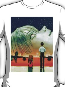 Neon Genesis Evangelion: The End of Evangelion Movie Poster  T-Shirt