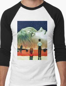 Neon Genesis Evangelion: The End of Evangelion Movie Poster  Men's Baseball ¾ T-Shirt