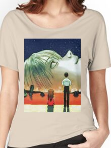 Neon Genesis Evangelion: The End of Evangelion Movie Poster  Women's Relaxed Fit T-Shirt